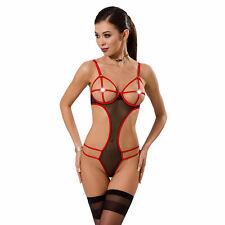 Lingerie Sexy Femme Body Hera Rouge Taille XXL/XXXL - PASSION