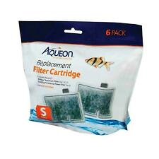 Aqueon Small Replacement Filter Cartridges 6 Pack  For MiniBow Aquarium Filters
