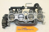 13-15 SUZUKI GSXR 750 GSX-R OEM MAIN FUEL INJECTORS  THROTTLE BODIES BODY