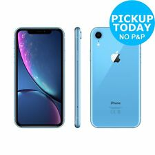 Sim Free Apple iPhone XR 6.1 Inch 64GB 3GB 12MP 4G Dual Sim Mobile Phone - Blue
