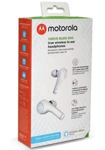 Motorola Verve Buds 500 True Wireless In-Ear Headphones White *Fast Shipping*