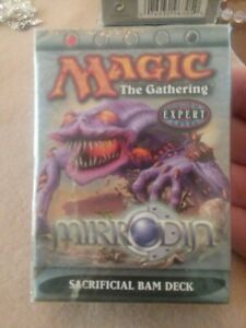 MTG Magic The Gathering Mirrodin Sacrificial Bam Factory Sealed Theme Deck