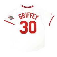 Ken Griffey Sr. Cincinnati Reds 1990 World Series Home Cooperstown Men's Jersey