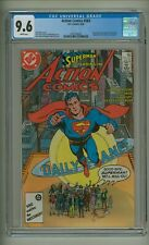 Action 583 (Cgc 9.6) White pgs; Alan Moore; Last Earth-1 Superman story (c#23816
