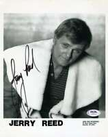 Jerry Reed PSA DNA Coa Hand Signed 8x10 Photo Autograph