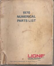 Lionel Trains 1970 Numerical Parts List   119 Pages   gtc29