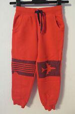 TOPOLINO ° coole Jogginghose Gr 116 rot Jungen Sport Kleidung Hose Sporthose