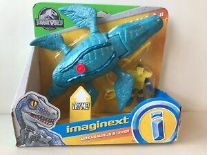 Imaginext Jurassic World Mosasaurs Dinosaur