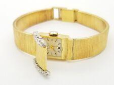 Chopard 18k Yellow Gold Wristwatch L.U.C. Chopard 18k Diamond Bracelet watch luc