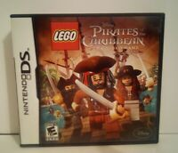 LEGO Pirates of the Caribbean: The Video Game (Nintendo DS, 2011) CIB w/Manual!