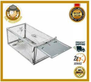 Medium Animal Live Humane Cage Trap Cat Groundhog Rabbit Rodent Squirrel Mice