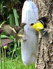 Audubon NYJER SEED/THISTLE SOCK Bird Feeder FINCHES/SISKINS & More NEW & NICE!