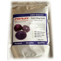 FORUN Premium Purple Cabbage Powder - Water Soluble, 100% Natural, Free Post