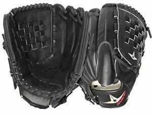 "All-Star System 7 Series 12"" Black Baseball Glove"