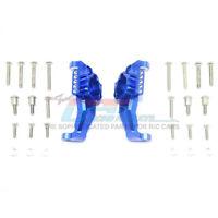GPM Racing Aluminum Front C Hubs TRX-4 12Pcs TRX-6 Set Blue