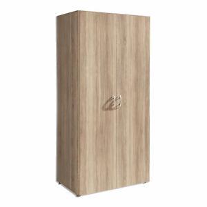 Drehtürenschrank - Sonoma Eiche - 80 cm breit