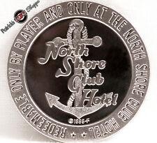 $1 PROOF-LIKE SLOT TOKEN NORTH SHORE CLUB CASINO 1966 FM MINT LAKE TAHOE NV COIN