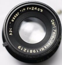 1937 - Carl Zeiss Jena APO-Tessar 24cm 240mm F9 Lens Medium/Large Format Cameras