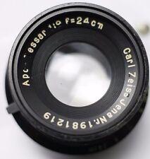 1937 - Carl Zeiss Jena APO-Tessar 24cm 240mm F9 Lens Medium/Large Format Cameras