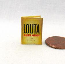 LOLITA Miniature Book Dollhouse 1:12 Scale Readable Book
