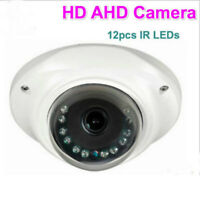 HD 1080P 120 Degree Wide Angle IR Analog cam Home security mini CCTV AHD Camera