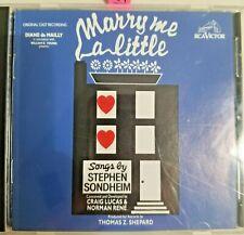 Sondheim: Marry Me a Little (Original Off-Broadway Cast) CD *Near Mint*