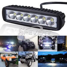 "18W 6"" Car Truck SPOT Cree LED Work Bar Light Boat Lamp SUV UTE ATV offroad"