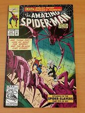 The Amazing Spider-Man #372 ~ VERY FINE - NEAR MINT NM ~ 1992 MARVEL COMIC