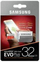 SAMSUNG EVO PLUS MICRO SD SDXC CARD 32GB ADAPTER 100MBS CLASS 10 UK FAST
