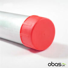 Scaffold Tube End Caps Red 200 Pack