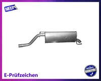 Endschalldämpfer Opel Corsa D 1.4 16V 64/66/74KW Auspuff Endtopf