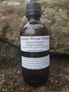 Parasite Worm Cleanse//Extract//Tincture//Herbal Concentrate//Practitioner Grade