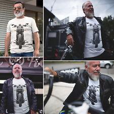 Victory Motorcycle T Shirt Biker Dad Fathers Grandad Motorbike Tshirt 706