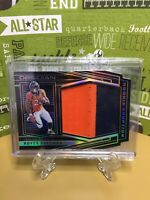ROYCE FREEMAN 2018 OBSIDIAN ROOKIE ERUPTION JUMBO RELIC 2 Patch Color /50