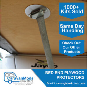 Bed End Plate x4 Ply Wood Protectors to suit Jayco Camper Trailers Modification