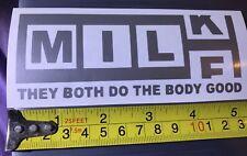 Voiture Fenêtre Autocollant, MILF lait, les deux ne le corps Bon Vinyle Autocollant, Ordinateur Portable