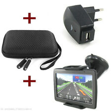 KFZ NAVI HALTER + CASE + USB ADAPTER TomTom Urban Rider Pro Start 20 M 25 XL XL2
