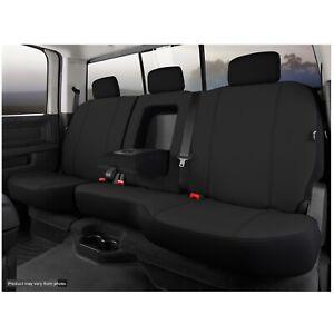 Fia SP82-92 BLACK Rear 60/40 Split Blk Seat Cover for Silverado/Sierra 1500/2500