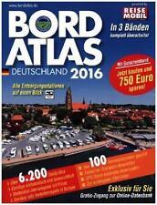 Bordatlas Stellplatzführer Reisemobil 2016 Stellplätze Deutschland Europa Campin