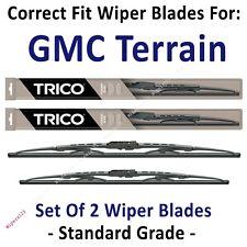 Wipers 2-Pack Standard - fit 2018+ GMC Terrain - 30240/180