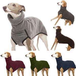Pet Dog Winter Fleece Vest Jacket Jumper Sweater Coat Puppy Warm Clothes