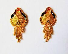 Indian Gold Plated Earrings Stud Tops Jhumka Jhumki Wedding New Fashion Jewelry