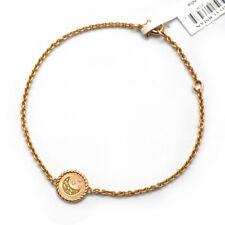 New DAVID YURMAN Ladies Moon & Star Collectible Bracelet 18K Gold Adjustable