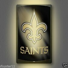 New Orleans Saints NFL Licensed MotiGlow™ Light Up Sign - Free USA shipping!