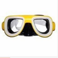 Swimming Goggles - Kids Recreation Dive Mask - (Yellow)