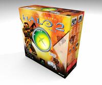 Caja vacia Xbox Clásica Halo 2 | Xbox Clásica Halo 2 empty box