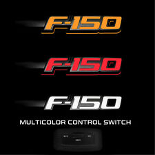 264282BK 2009-2014 Ford F-150 Illuminated Side Fender Emblems Black Housing