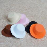 1:12 Puppenhaus Miniatur Neu Mode Dame.Puppen kleiner Hut in 6 Farben Heiß