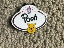Disney Winnie the Pooh Name Tag Pin