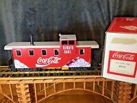 LGB 45710 RED COCA COLA EXTENDED VISION CABOOSE BRAND NEW IN ORIGINAL BOX RARE!